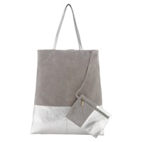 East Contrast Tote Bag Gold