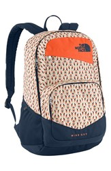 The North Face 'Wise Guy' Backpack Orange Orange Rust Tribal Tribute