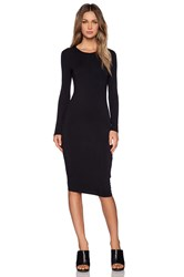 Blq Basiq Longsleeve Dress Black