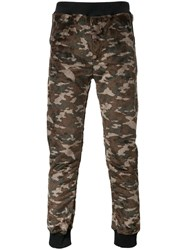 Guild Prime Camouflage Joggers Brown