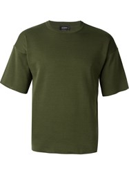 Jil Sander Knit T Shirt Green