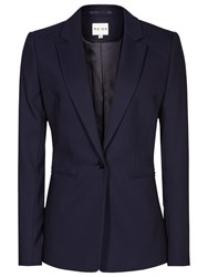 Reiss Delo Single Breasted Blazer Night Navy