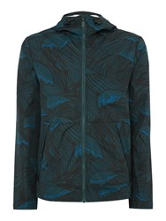 Hunter Men's Original Wave Print Light Weight Jacket Blue