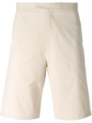 Jil Sander Chino Shorts Nude And Neutrals