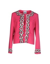 Moschino Cheap And Chic Moschino Cheapandchic Suits And Jackets Blazers Women Fuchsia