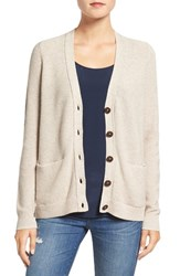 Madewell Women's 'Bradyn' Cardigan Heather Sand