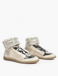 Maison Martin Margiela Transparent Future Hi Top Sneakers