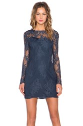 Style Stalker Katara Long Sleeve Dress Navy