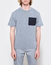 Patrik Ervell Technical T Shirt Navy White