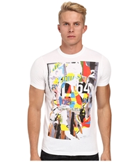 Dsquared Painterly Sexy Slim Fit Tee