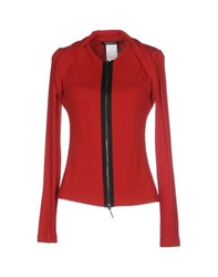Plein Sud Jeanius Knitwear Cardigans Women Red