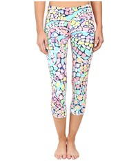 Lilly Pulitzer Luxletic Crop Pants Multi Gypsy Jungle Stretch Women's Casual Pants