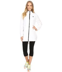 Puma Long Windrunner White Women's Coat