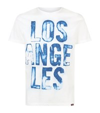 7 For All Mankind Cotton Logo Front T Shirt Male