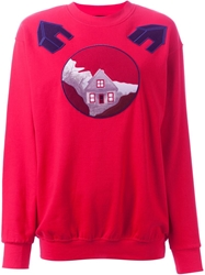 Andrea Incontri Embroidered Patch Sweatshirt