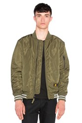 Undefeated Vandal Ma 1 Jacket Army