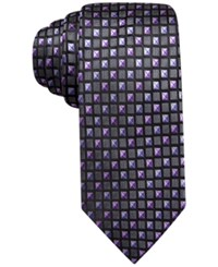 Alfani Spectrum Jasper Neat Slim Tie. Only At Macy's Purple
