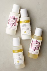Anthropologie Ren Clean Skincare Mini Body Gift Set White