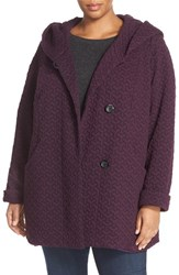 Gallery Plus Size Women's Quilted Hooded Jacket