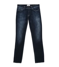 7 For All Mankind Ronnie Luxe Sport Skinny Jeans Male Blue