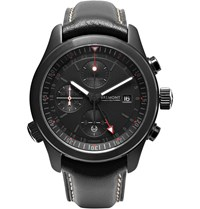 Kingsman Bremont Alt1 B Stainless Steel And Leather Automatic Chronograph Watch Black