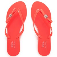 Jason Wu For Melissa Women's Harmonic 15 Flip Flops Tangerine Orange