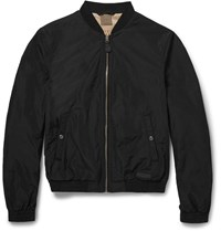 Burberry Brentfield Shell Bomber Jacket Black
