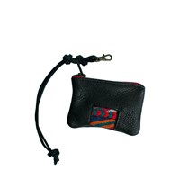 Spencer Devine Extra Small Keychain Pouch Black And Red