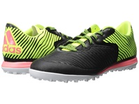 Adidas Vs Chaos Low Cage Black Solar Yellow Flash Red Men's Soccer Shoes
