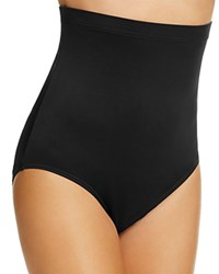 Miraclesuit Solid Super High Waist Tankini Bottom Black