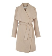 Hobbs Laurie Waterfall Coat Coffee