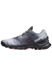 Reebok All Terrain Thrill Trail Running Shoes Ash Grey Astered Dust Pink