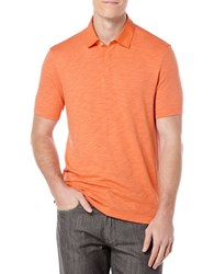 Perry Ellis Solid Jersey Polo Shirt Monarch