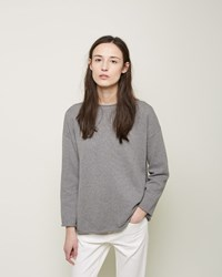 La Garconne Moderne Cotton Rollneck Heather Grey