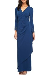 Alex Evenings Women's Embellished Jersey Gown