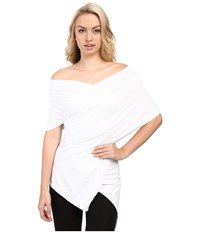 Wolford Multifunction Scarf Top White Women's Clothing
