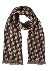 Hackett London Scarf Brown