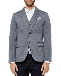 Ted Baker Limboe Jersey Slim Fit Sport Coat Navy