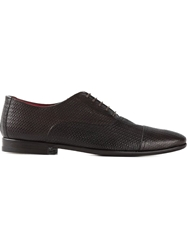 Canali Classic Oxford Shoes Brown