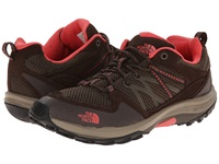 The North Face Storm Fastpack Weimaraner Brown Fiesta Red Women's Shoes