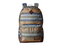 Burton Kettle Pack Beach Stripe Print Backpack Bags Brown