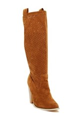 Charles Albert Perforated Boot Brown