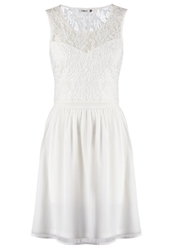 Only Onlgeorgia Cocktail Dress Party Dress Cloud Dancer Off White