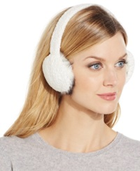 Charter Club Chenille Earmuffs Only At Macy's Ivory