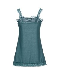 Amy Gee Topwear Vests Women Deep Jade