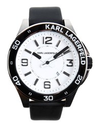 Karl Lagerfeld Timepieces Wrist Watches Men White