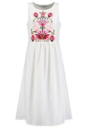 Mintandberry Summer Dress Off White Off White