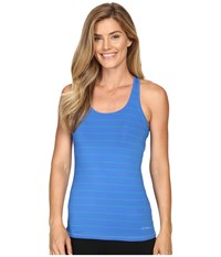 Brooks Go To Tank Top Wave Parque Women's Sleeveless Blue