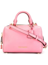 Michael Michael Kors Extra Small 'Kirby' Satchel Pink And Purple