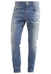 Ltb Justin X Relaxed Fit Jeans Overton Wash Destroyed Denim